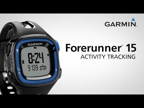 Garmin Forerunner 15 Activity Tracking