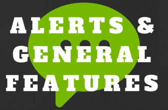 Features | Alerts & General Features