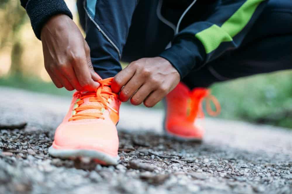 Cómo atar zapatos para correr