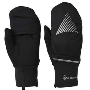 TrailHeads Convertible Running gloves