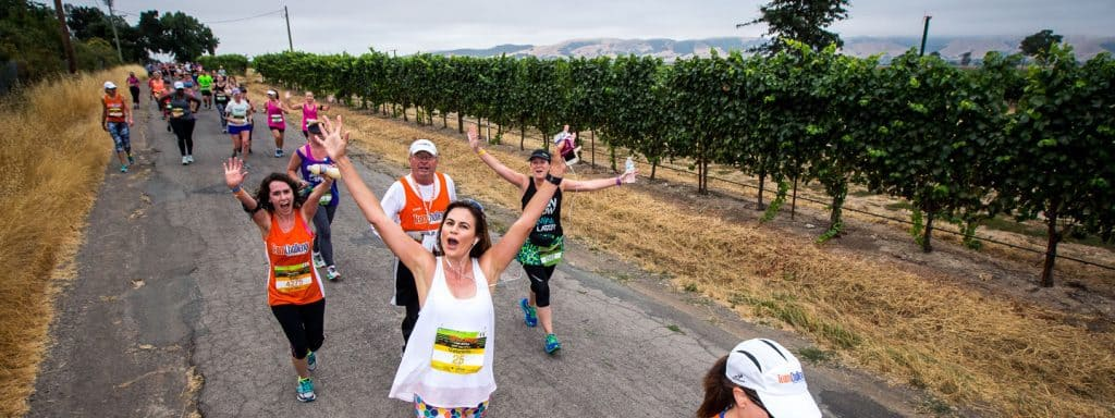 Napa-to-Sonoma Wine Country Half Marathon