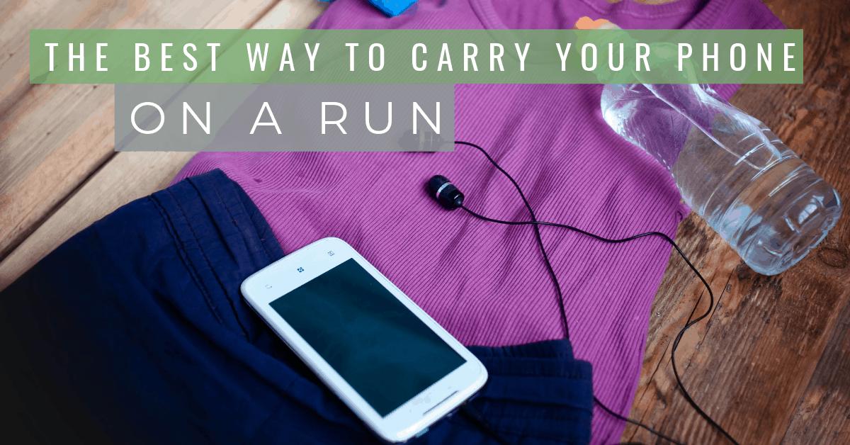 la mejor manera de llevar tu teléfono a la carrera