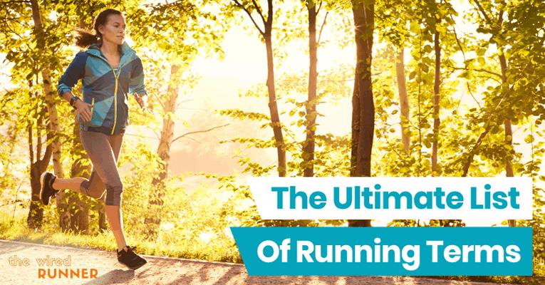 women running in park - running terms