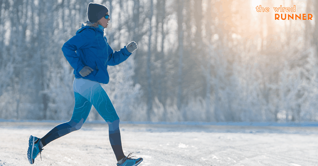 Running during cold