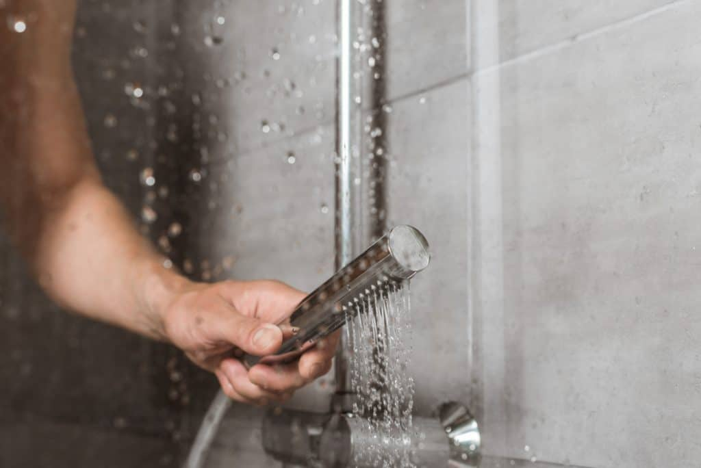 Shower for runners