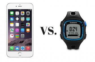 Smartphone vs. GPS Watch